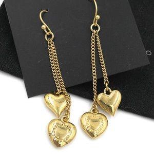 Marc by Marc Jacobs Heart Dangle Earrings
